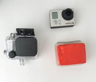 GoPro Hero 3 con varios accesorios