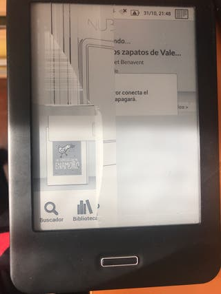 Libro electrónico bq Cervantes