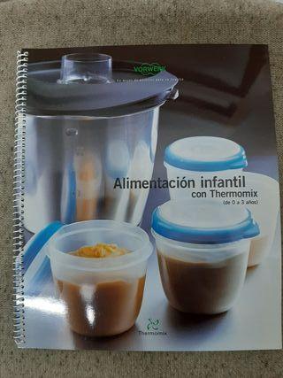 libro de recetas thermomix alimentación infantil