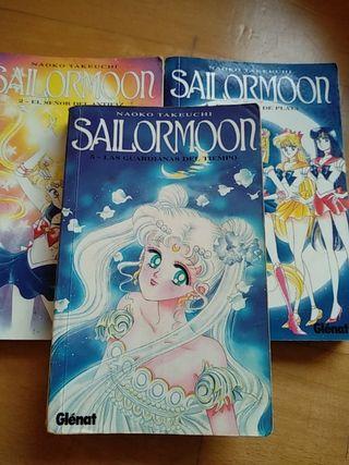 Cómics Sailormoon de Naoko Takeuchi