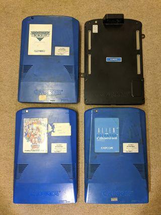 Pack placas Capcom (PCB JAMMA versión Europa)