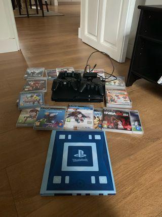 Se vende Playstation 3 + 20 juegos