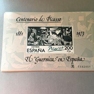 Sello del Guernica de Picasso