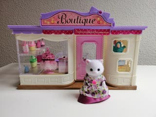 sylvanian boutique en perfecto estado