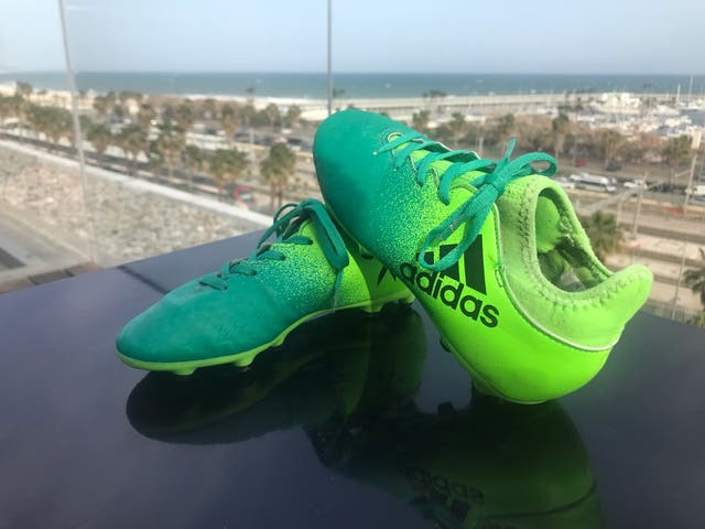 Botas de Fútbol de Niño (Adidas X)