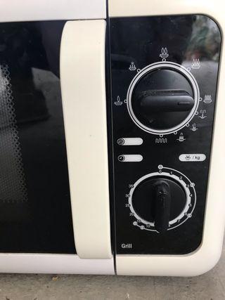 Microondas color blanco