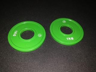 discos nuevos powerlifting calibrados