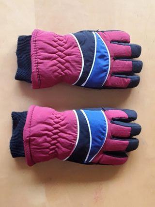 guantes para nieve de niño