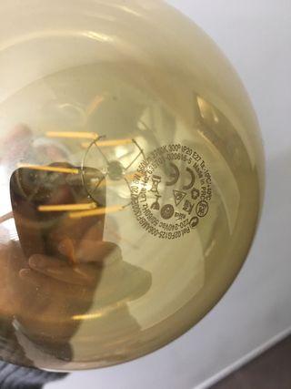Bombilla tipo globo