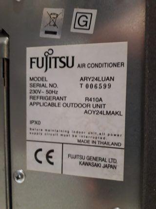 Vendo aparato aire acondicionado Fujitsu inverter
