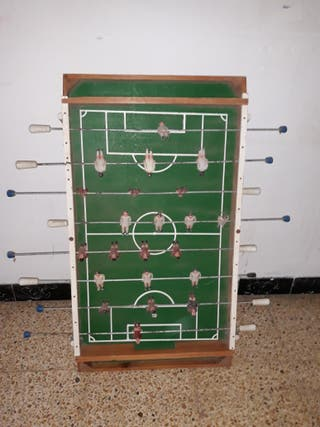 FUTBOLIN ANTIGUO.
