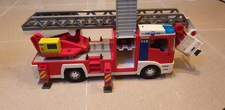 Coche bombero playmobil