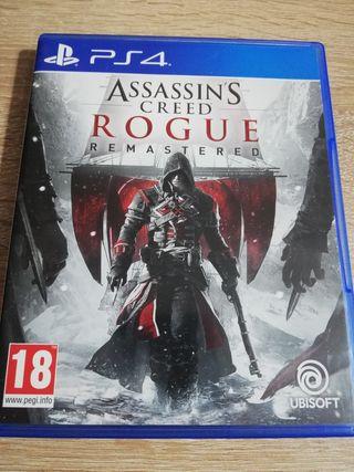 Assassins Creed Rogue Remastered Ps4