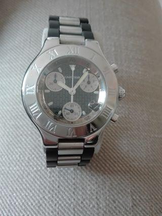 406d5b249246e Reloj Cartier de segunda mano en WALLAPOP