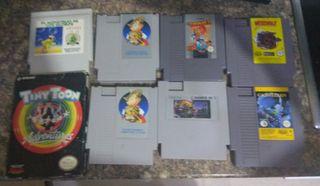 juegos Nintendo Nes lote