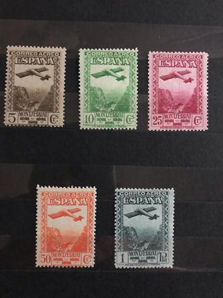 Sellos de España EDIFIL 650/54** - Año 1931