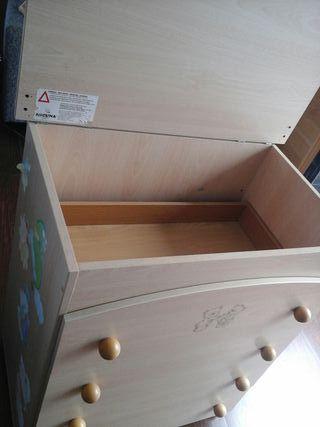 mueble cambiador