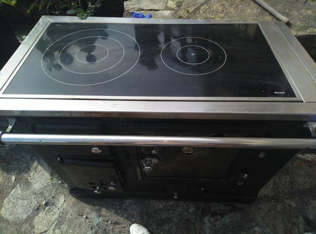 cocina de leña