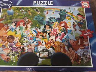puzzle disney 1000 piezas sin estrenar