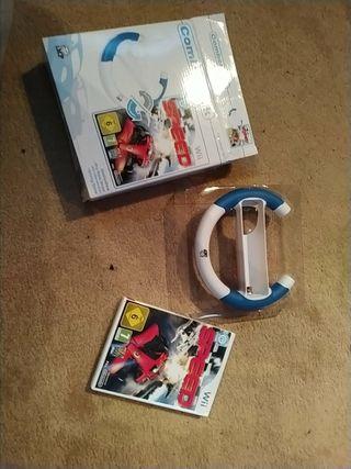 Combo, juego y volante para Wii