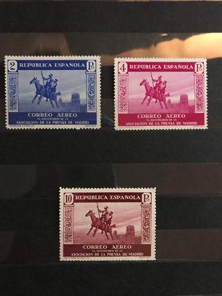 Sellos de España EDIFIL 723/25** - Año 1936