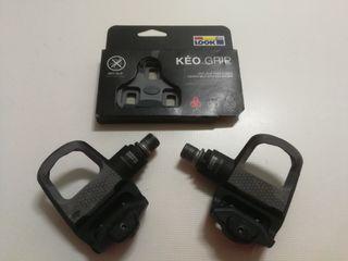 Pedales Look Keo Classic + Juego calas Keo