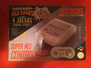 Super Nintendo + Juegos