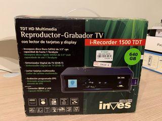 Reproductor - Grabador TV INVES