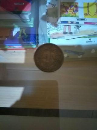 moneda de 1 peseta de 1944