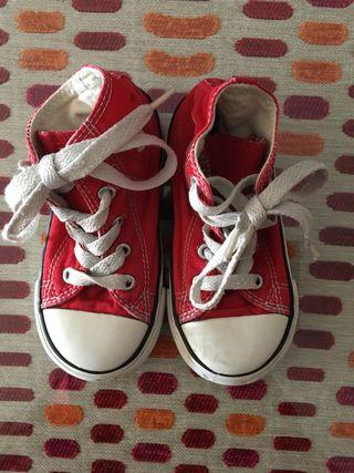Zapatillas Converse t. 23