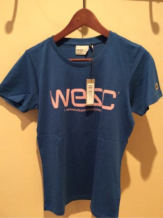 Camiseta WESC chica Talla M