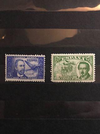 Sellos de España EDIFIL 983/990** - Año 1944/45