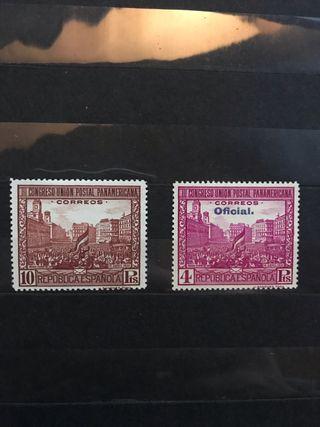Sellos de España EDIFIL 613/628** - Año 1931
