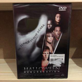 Halloween resurrection dvd precintado