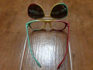 Gafas de Sol Vintage doble pletina