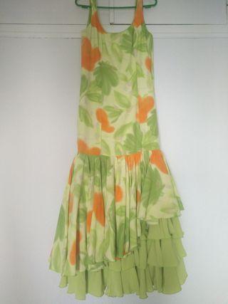 Vestido flamenca talla 38/40