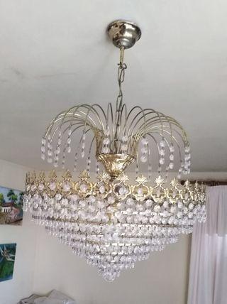 lampara de techo i apliques.