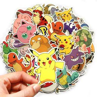 40 pegatinas pokemon Nuevo