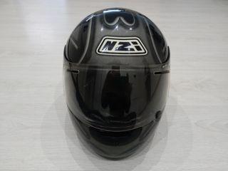 Casco de moto de carbono talla m