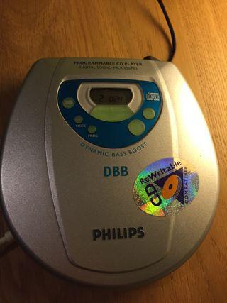 Reproductor CD Philips, modelo AZ7682