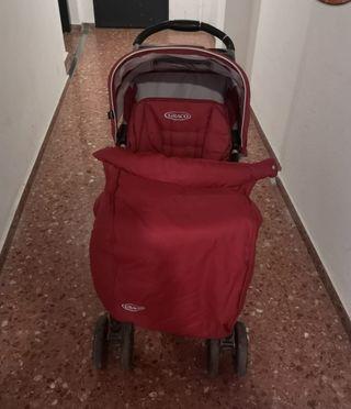 carrito adaptado para bebé que no sale en la foto