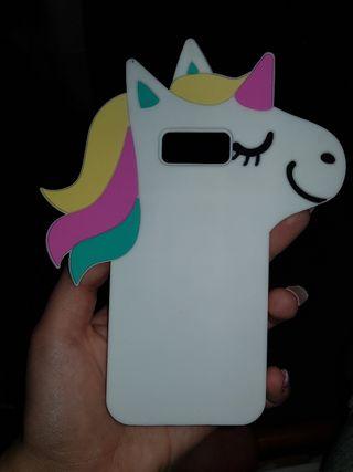 Funda unicornio Samsung Galaxy S8