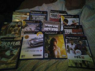 Lote de juegos PS2