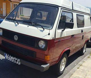Volkswagen t3 westfalia camping