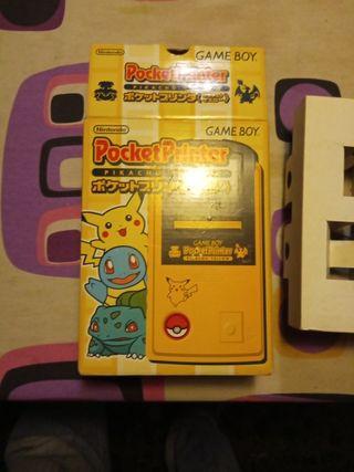PocketPrinter Pikachu Yellow Japan GameBoy