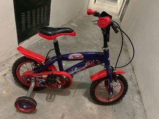 Bicicleta en para niños 3 a5 años