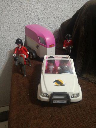 coche y remolque hipica