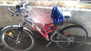 Bicicleta de montaña 2 amortiguadores