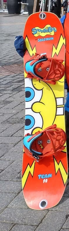 tabla snowboard niño