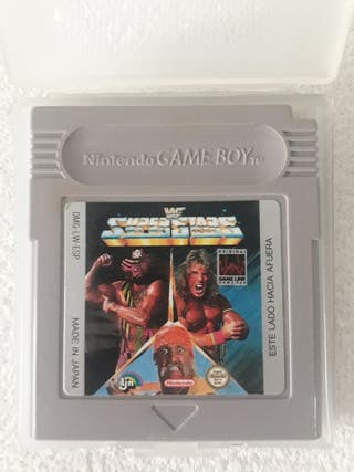 WWF Superstars Gameboy